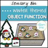 Winter Object Function Sensory Bin Speech Therapy