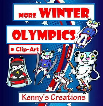Winter Olympic 2018 Clip Art PART 2