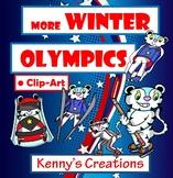 Winter Olympic Clip Art PART 2