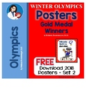 Winter Olympic 2018  Posters of Gold Medal Winners - Set 2 Mikaela Shiffrin