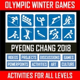 WINTER OLYMPICS BUNDLE - PYEONG CHANG 2018