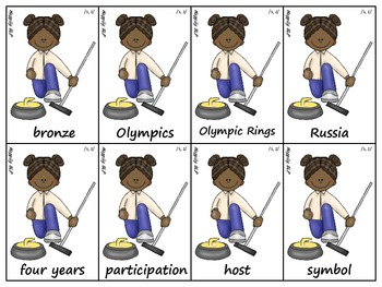 Winter Olympic Articulation (r,s,z,l,th, r-blends and s-blends)