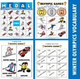 Winter Olympic Bingo / Matching Activities