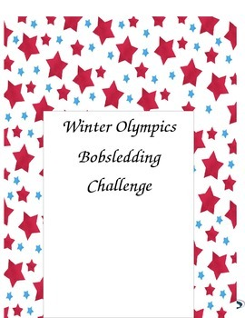 Winter Olympic Bobsledding Challenge
