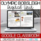 Winter Olympic Bobsleigh DIGITAL Distance Learning Unit fo