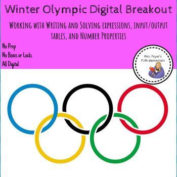 Winter Olympic Digital Breakout
