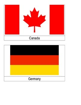Winter Olympic Flags