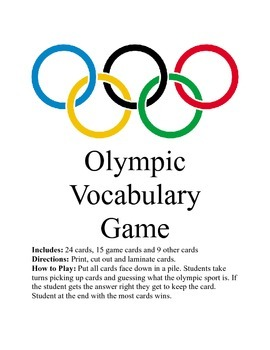 Winter Olympic Game