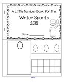 Winter Sports 2018 Little Number Book FREE