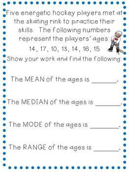 Winter Olympic Games: Math for Fourth Graders