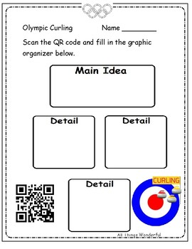 Winter Games QR Codes with Printables