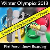 Winter Olympics 2018 South Korea PyeongChan  Narrative Writing Scenario