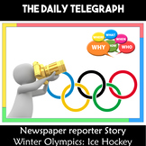 Winter Olympics 2018 South Korea PyeongChan Newspaper Writing Scenario
