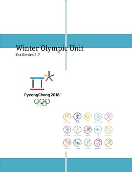 Winter Olympic Games Unit