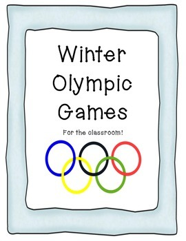 Winter Olympic Games for the Classroom