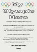 Winter Olympic Hero Research - draft booklet