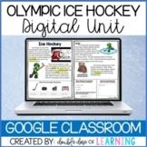 Winter Olympic Ice Hockey DIGITAL Distance Learning Unit f