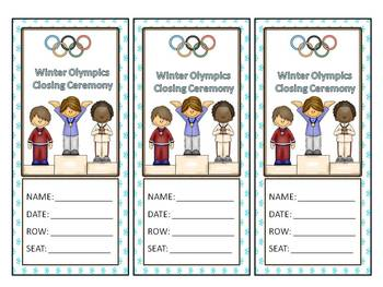 Winter Olympics Incentive Package
