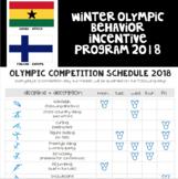 Winter Olympic Incentive Program 2018