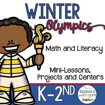 Winter Olympic Literacy Fun Pack