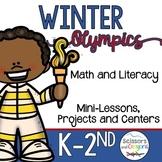 Winter Olympics 2018 Math and Literacy Fun Pack