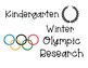 Winter Olympic Research