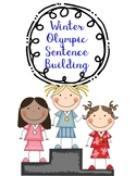 Winter Olympic Sentence Building Puzzles