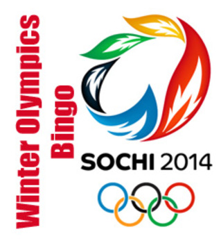 Winter Olympic Sochi 2014 Bingo