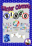 Winter Olympic Sochi 2014 Bingo
