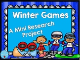 Winter Olympic 2018 Sports Research