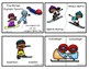 Winter Olympic Sports Puzzle Cards (Bilingual)