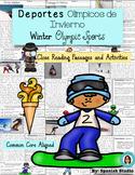 Winter Olympic Sports (Spanish). Deportes Olímpicos de Invierno