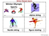 Winter Olympic Sports in English - 2 Emergent Readers