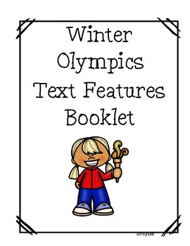 Winter Olympic Text Features Booklet