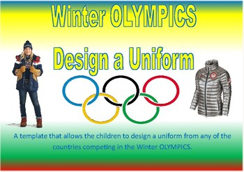 Winter Olympic Uniform Design Template