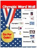 Winter Olympics Word Wall
