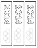 Winter Olympics 2014 Book Marks