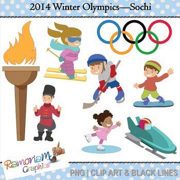 olympics clip art by ramonam graphics teachers pay teachers rh teacherspayteachers com Olympic Games Clip Art Olympic Rings Clip Art