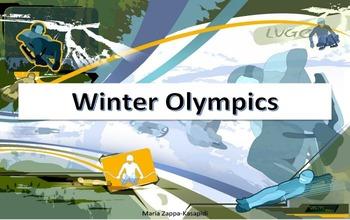 Winter Olympics 2014 kindergarden activities