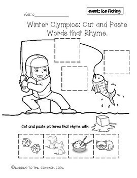 Winter Olympics 2018, RHYME CUT AND PASTE