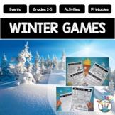 Winter Olympics 2018 Activity Pack & Winter Games 2018 Bulletin Board Kit