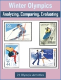 Winter Olympics 2018 (Analyzing, Comparing, Evaluating)