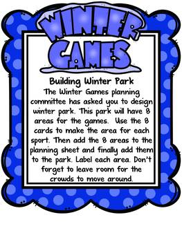 Winter Olympics 2018 - Area and Perimeter Project