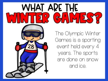 Winter Olympics 2018 BUNDLE--For Younger Learners