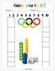 MATH OLYMPICS Kindergarten Build a Tower + Race to 10 or 20 Composing Numbers