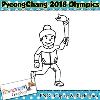 Winter Olympics 2018 Clip art