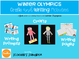 Winter Olympics Crafts and Writing Activities