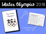 Winter Olympics 2018 Easy Reader