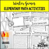 Winter Olympics 2018 Elementary Math Activities
