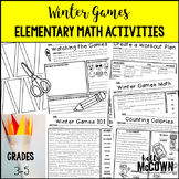 Winter Olympics 2018 Elementary Math Activities